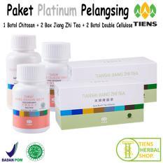 Harga Tiens Pelangsing Herbal Paket Platinum Penghancur Lemak Asam Urat Promo Baru