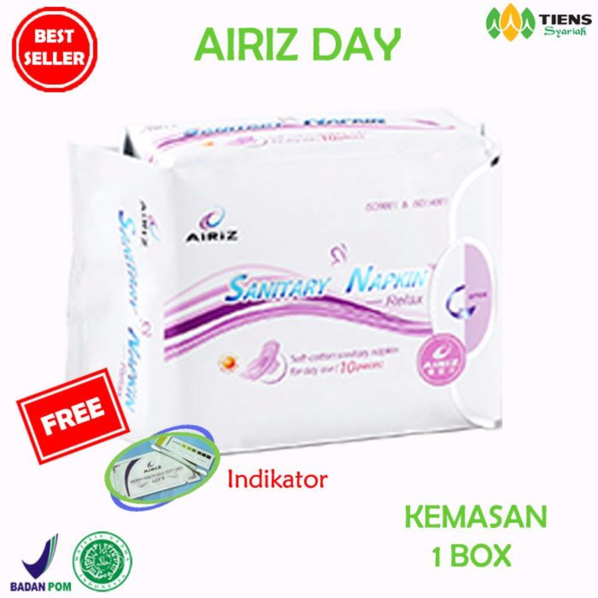 Pencari Harga Tiens Pembalut Kesehatan Herbal Airiz Day Anti Kanker Serviks Bebas Klorin (Kemasan 1 box) terbaik murah - Hanya Rp38.988
