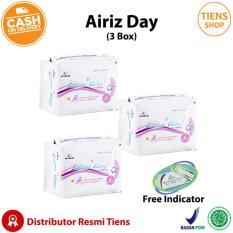 Toko Tiens Pembalut Kesehatan Herbal Airiz Day Anti Kanker Serviks Bebas Klorin Kemasan 3 Box Free Indicator Murah Jawa Timur