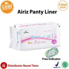 Review Tiens Pembalut Kesehatan Herbal Airiz Pantyliner Anti Kanker Serviks Bebas Klorin Kemasan 1 Box Free Indicator By Ts1