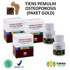 Toko Tiens Pemulih Osteoporosis Paket Promo 3 Calcium 2 Zinc Free Membercard Th Termurah