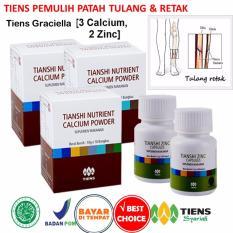 Tiens Pemulih Patah Tulang Dan Retak Paket Promo Banting Harga 3 Kalsium 2 Zinc Gratis Kartu Diskon Tiens Graciella Tiens Murah Di Indonesia