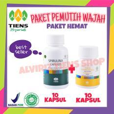 Harga Hemat Alviriz Tiens Shop Pemutih Badan Dan Wajah Paket Spirulina 10 Kapsul Vitaline 10 Kapsul Promo