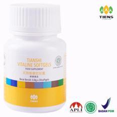 Jual Tiens Pemutih Wajah Dan Seluruh Tubuh Vitaline Softgel Herbal Tiens 30 Kapsul Tiens Asli
