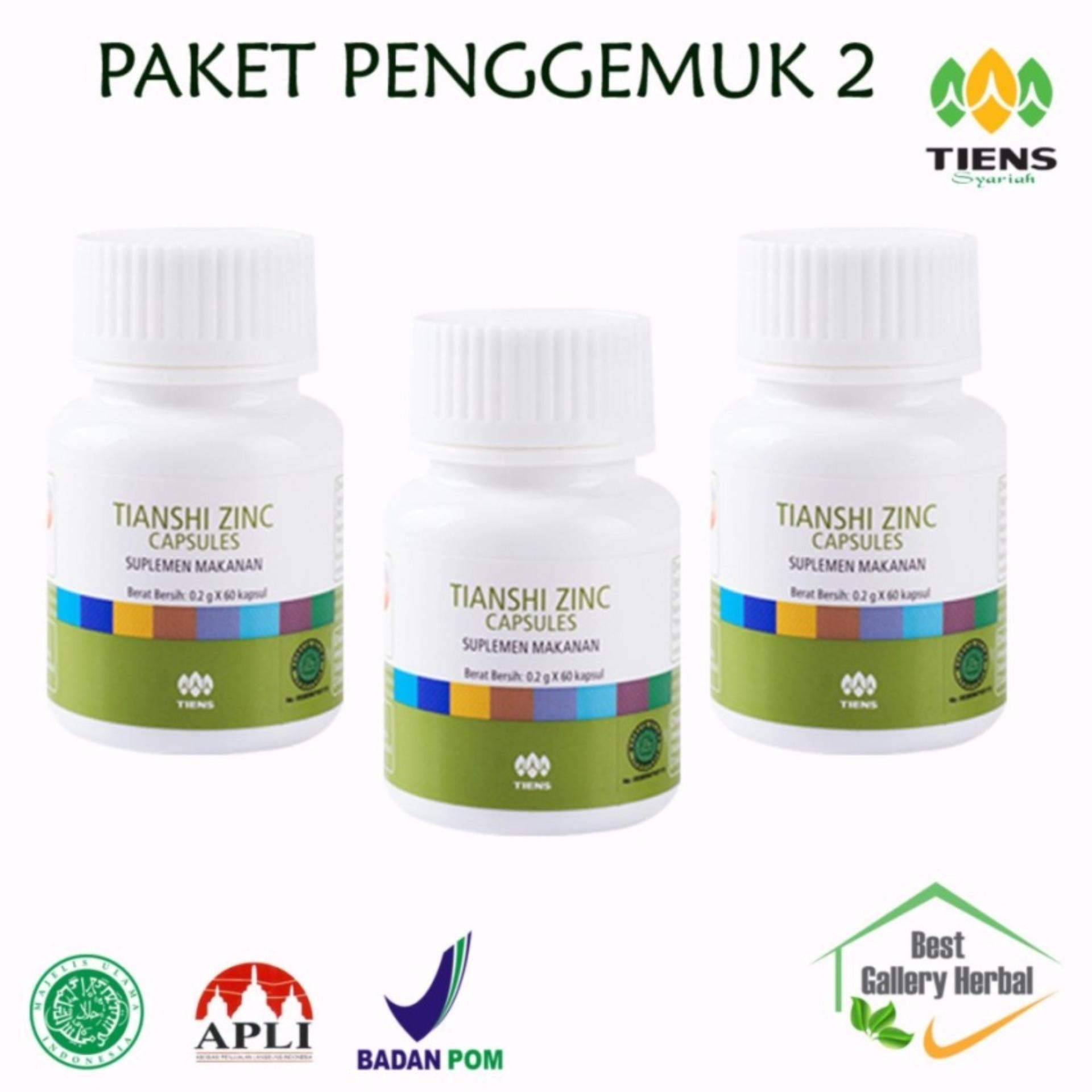 Buy Sell Cheapest Tiens Penggemuk 2 Best Quality Product Deals Zinc Capsules