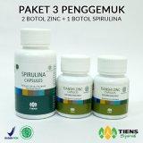 Spesifikasi Tiens Penggemuk Badan Herbal Paket 3 1 Spirulina 2 Zinc Promo Original Tiens Herbal Store Tiens