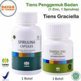Spesifikasi Tiens Penggemuk Badan Paket Promo Banting Harga 1 Zinc 1 Spirulina Gratis Kartu Diskon Tiens Graciella Dan Harganya