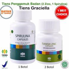 Harga Tiens Penggemuk Badan Paket Promo Banting Harga 2 Zinc 1 Spirulina Gratis Kartu Diskon Tiens Graciella Lengkap