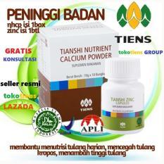 Review Tiens Peninggi Badan 10 Hari Bisa Tinggi Nhcp Zinc By Tokotiens Di Jawa Timur