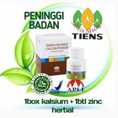 Jual Tiens Peninggi Badan Kalsium Tulang Pencegah Osteoporosis Nhcp Zinc By Silfa Shop Jawa Timur