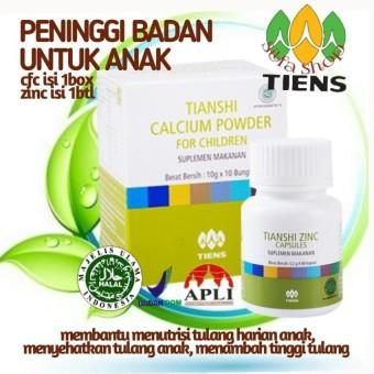 """Nutrient High Calcium Powder"". Source · TIENS PENINGGI BADAN ANAK ."