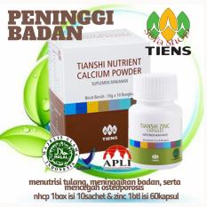 Jual Tiens Peninggi Badan Herbal Asli Manjur Nutrient High Calcium Powder Zinc Silfa Shop Tiens Murah