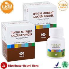 Beli Tiens Peninggi Badan Herbal Paket 2 2 Kalsium 1 Zinc Free Member Card Tiens Shop Seken