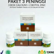 Spesifikasi Tiens Peninggi Badan Herbal Paket 3 Promo Baru