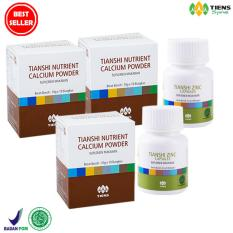 Tiens Peninggi Badan Herbal Paket 3 Promo 3 Box Calsium 2 Btl Zinc Free Konsultasi Diskon Jawa Timur