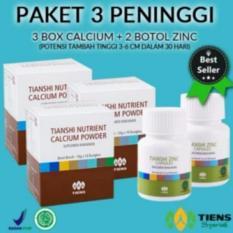 Harga Tiens Peninggi Badan Herbal Paket 3 Promo Asli