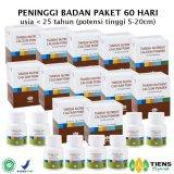 Harga Tiens Peninggi Badan Herbal Paket 60 Hari Paling Murah