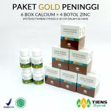 Toko Tiens Peninggi Badan Gold Paket 6 Kalsium Dan 4 Botol Zinc Original By Tiens Olshop Free Konsultasi Terdekat