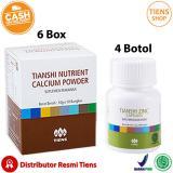 Beli Tiens Peninggi Badan Herbal Paket Gold 6 Kalsium 4 Zinc Free Member Card Tiens Shop Baru