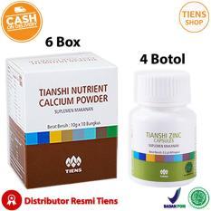 Beli Tiens Peninggi Badan Herbal Paket Gold 6 Kalsium 4 Zinc Free Member Card Tiens Shop Seken