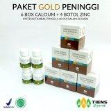 Harga Tiens Peninggi Badan Herbal Paket Gold Fullset Murah