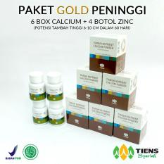 Review Tiens Peninggi Badan Herbal Paket Gold Promo Tiens