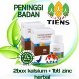 Tiens Peninggi Badan Manjur Nutrient High Calcium Zinc Herbal Silfa Shop Original