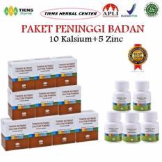 Jual Tiens Peninggi Badan Nutrient High Calsium Powder 10 Zink 5 Online Jawa Timur