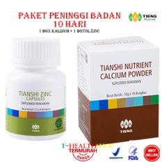 Jual Beli Tiens Peninggi Badan Nutrient Hight Calsium Powder Dan Zink Jawa Timur