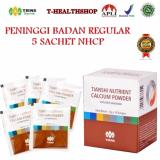 Review Tentang Tiens Peninggi Badan Regular 5 Sachet Nutrient High Calcium Powder