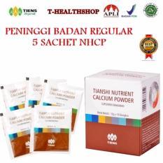 Review Tiens Peninggi Badan Regular 5 Sachet Nutrient High Calcium Powder Terbaru