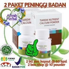 Jual Tiens Peninggi Badan Tanpa Efek Samping Nutrient High Calcium Powder Zinc Produk No1 Di Dunia By Afiyah Herbal Branded Original
