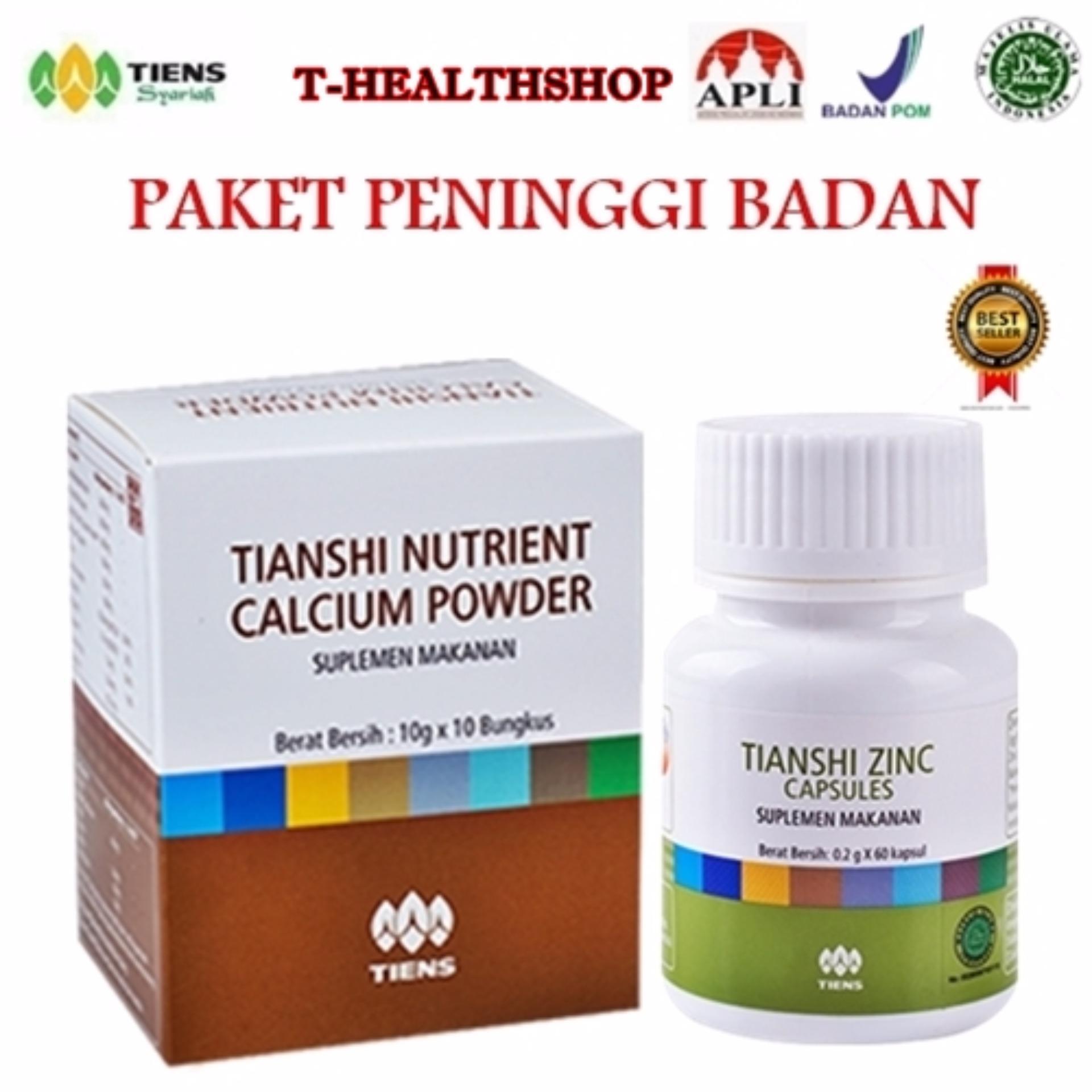 Cheapest Price Peninggi Badan Tiens Nutrient Hight Calsium Powder Dan Zinc sale - Hanya Rp362.