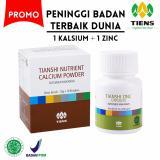 Toko Tiens Peninggi Badan Terbaik Dunia Paket 1 Tiens Nutrient High Calsium Powder Dan Zinc Promo Murah By Tiens Online Shop Tiens Indonesia