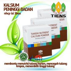 Review Tiens Peninggi Dan Penguat Tulang Nutrient High Calcium Powder By Silfa Shop Tiens