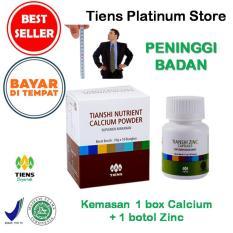 Beli Peninggi Badan Tiens Paket Promo 1 Kalsium 1 Zinc Gratis Kartu Diskon Tiens Platinum Store Online