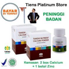 Harga Peninggi Badan Tiens Paket Hemat Promo 2 Kalsium 1 Zinc Gratis Kartu Diskon Tiens Platinum Store Lengkap
