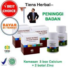 Penawaran Istimewa Tiens Peninggi Badan Paket Hemat 3 Calcium 2 Zinc Free Membercard Th Terbaru