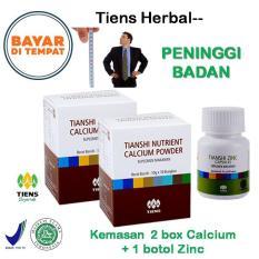 Spesifikasi Tiens Peninggi Badan Paket Promo 2 Calcium 1 Zinc Gratis Member Card Th Bagus