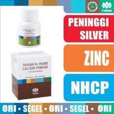 Promo Tiens Promo Paket Peninggi Badan Silver Zinc Nutrient Calcium Powder Nhcp Kalsium Tianshi Ori Herbal Jawa Tengah