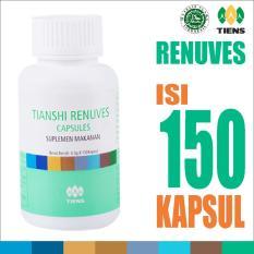 Penawaran Istimewa Tiens Promo Renuves Capsules Antioksidan Herbal Ori Tianshi Insomnia Susah Tidur 1 Botol Isi 150 Kapsul Terbaru