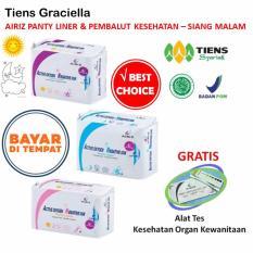 Tiens Promo Spesial Airiz Pembalut Kesehatan untuk Siang Malam [1 Day, 1 Night, 1 Panty] + GRATIS Kartu Diskon Toko Tiens Graciella