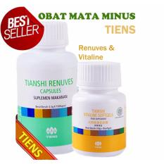Harga Tiens Renuvus Dan Vitaline Obat Mata Minus Satu Set
