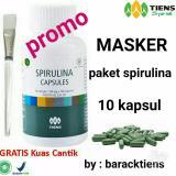 Harga Tiens Spirulina Masker Wajah Paket Promo Asli Tiens