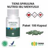 Beli Tiens Spirulina Nutrisi Ibu Menyusui Paket Promo Banting Harga 100 Kapsul Gratis Kartu Diskon Tiens Mega Online Terpercaya