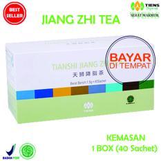 Spesifikasi Tiens Teh Pelangsing Jiang Zhi Tea Paket Hemat 40 Sachet Murah