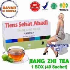 Spesifikasi Tiens Teh Pelangsing Jiang Zhi Tea Paket Hemat 40 Sachet Terbaru