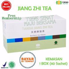 Beli Tiens Teh Penurun Asam Urat Jiang Zhi Tea Paket Promo 40 Sachet Online Jawa Timur
