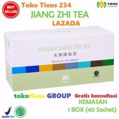 Toko Tiens Teh Penurun Asam Urat Jiang Zhi Tea Paket Promo 40 Sachet Murah Jawa Timur