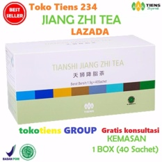 Diskon Tiens Teh Penurun Asam Urat Jiang Zhi Tea Paket Promo 40 Sachet